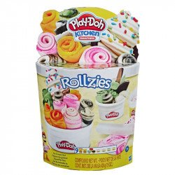 Play-Doh E8055 Play-Doh Kitchen Creations Rollzies - Set de heladería  Juguete Hasbro