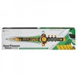 PREVENTA Power Rangers Lightning Collection ? Mighty Morphin Daga Dragón Verde - Coleccionable con Luces y Sonido