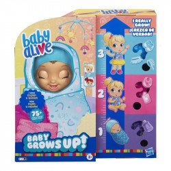 Muñeca Baby Alive E8199 Baby Grows Up BuzzBaby