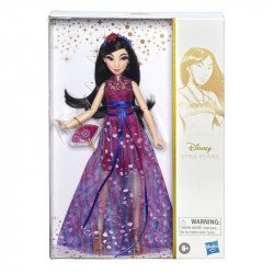 Disney Girls E8400 Disney Pricesas Style Series Mulan Juguete Hasbro