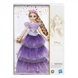 Disney Girls E9059 Disney Pricesas Style Series Rapunzel Juguete Hasbro