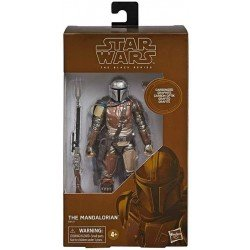 Figura de Acción Star Wars: The Black Series E8437 The Mandalorian Carbonized