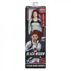 Marvel Black Widow Titan Figura de 12 pulgadas - Widow