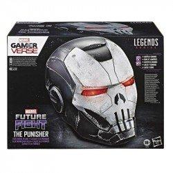 Marvel E8679 Marvel Legends Casco Iron Man: Silver Mark II Juguete Hasbro