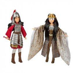 Disney Girls E8691 Mulan 2 Muñecas de Mulan y Xianniang Juguete Hasbro