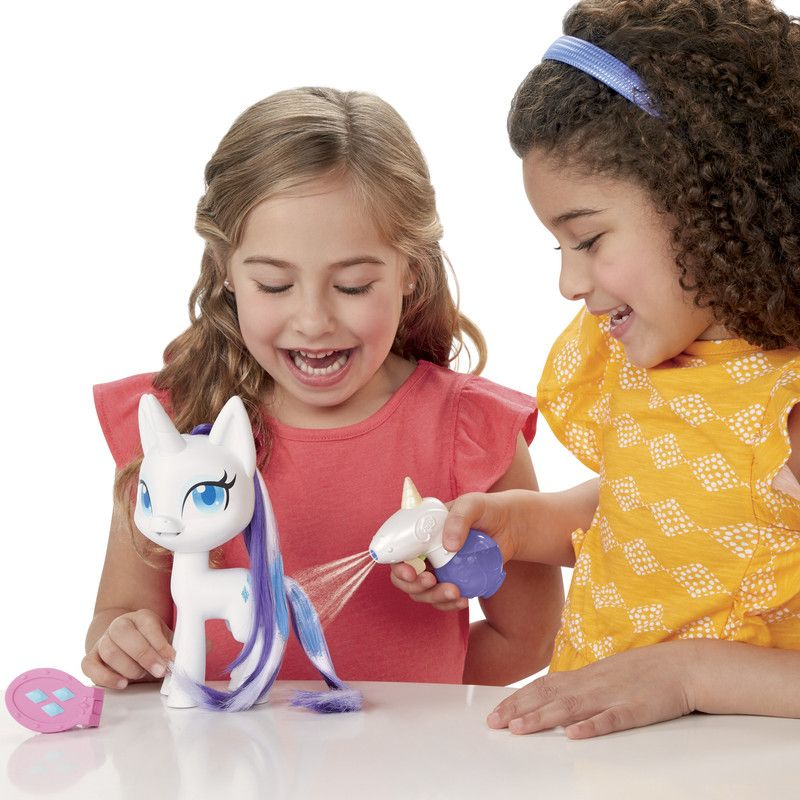 My Little Pony E9104 My Little Pony Muñeca Cabellos Mágicos Rarity