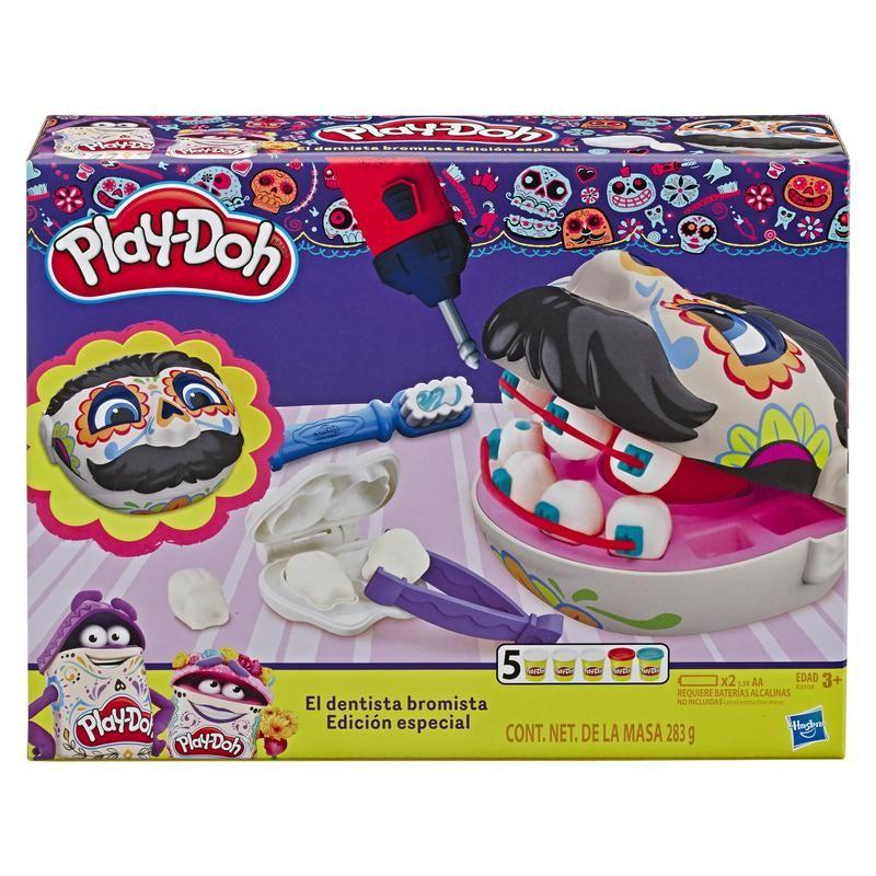 Play-Doh E9108 Play Doh Dentista Bromista Edición Especial Día de Muertos  Juguete Hasbro