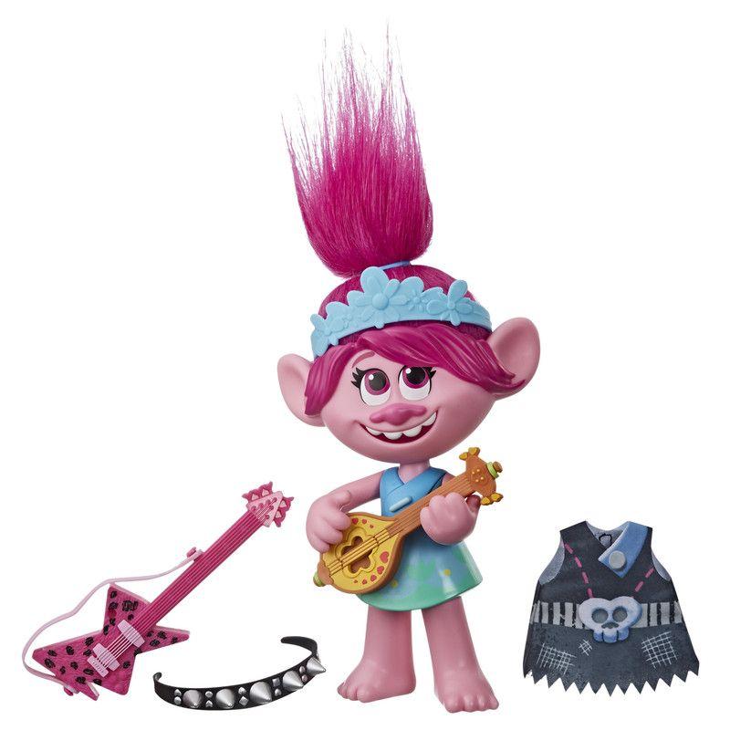 Trolls E9411 Trolls World Tour La Película Muñeca Pop & Rock Poppy
