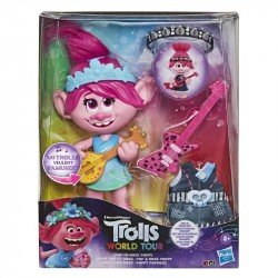 Trolls E9411 Trolls World Tour La Película Muñeca Pop & Rock Poppy