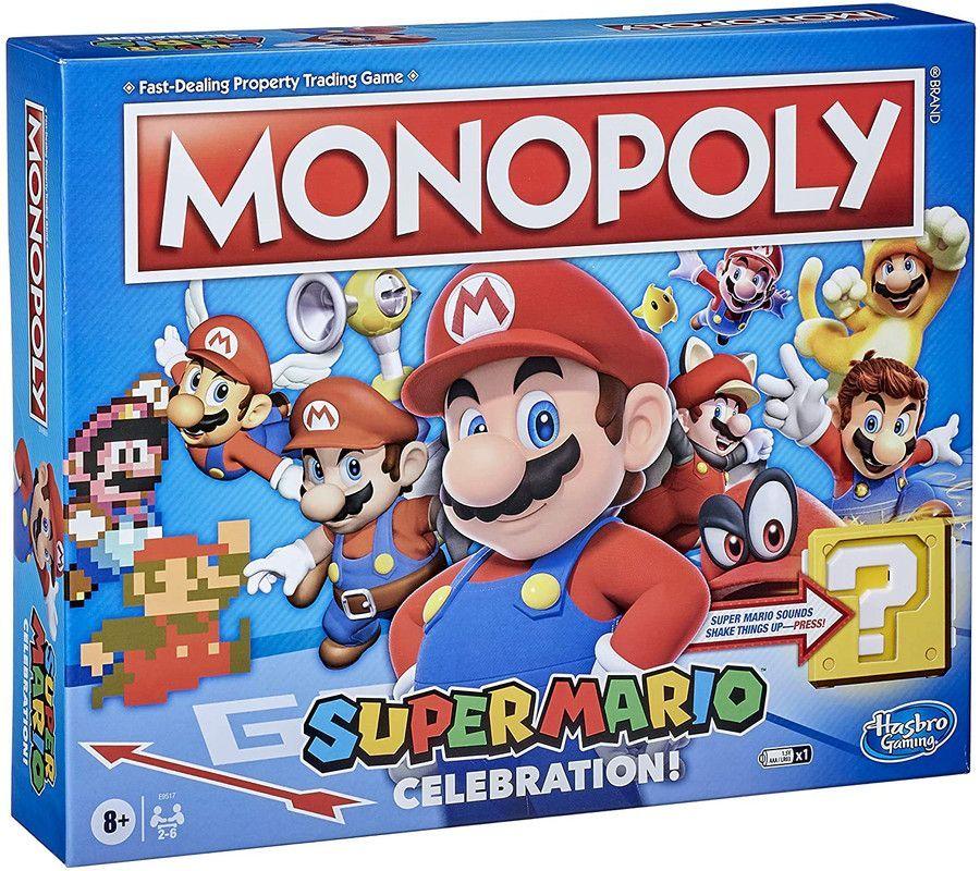 Juego de Mesa Monopoly Super Mario