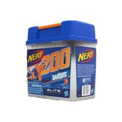 Nerf F0396 Cubeta Nerf 200 Dardos Elite