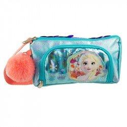 Lapicera Suave Doble Infantil Niña Disney Frozen