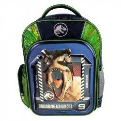 Back Pack 3D Metalico Primaria  Jurassic World