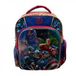 Back Pack 3D Metalico Primaria Niño  Avengers