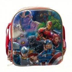 Lonchera 3D Metalico Infantil Niño  Avengers