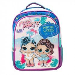 Back Pack 3D Metalico Primaria  Lol Surprise