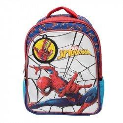 Back Pack 3D Metalico Primaria Niño Spider-Man