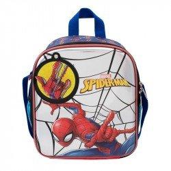 Lonchera 3D Metalico Infantil Niño Spider-Man