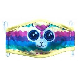 Mascara Textil Infantil Niña Ruz Shinymals G