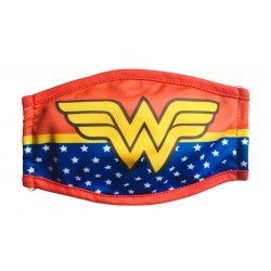 Mascara Textil Infantil Niña Warner Bros Wonder Woman G