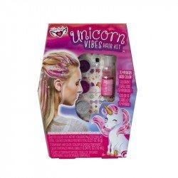 Set para Cabello Unicorn Vibes Fashion Angels