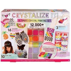 Set de Pintura Crystalize It! Crystal Fashion Angels