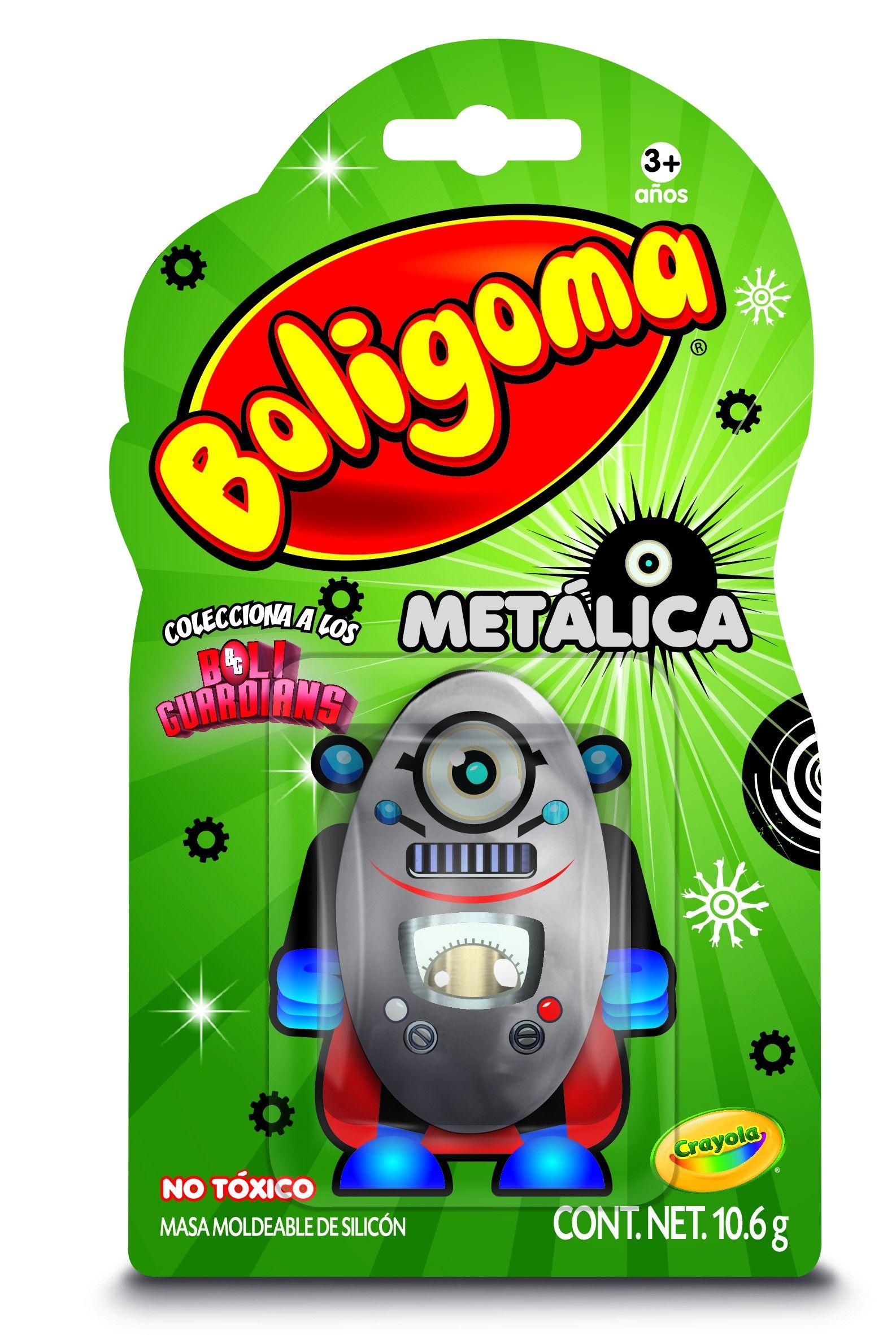 Boligoma Metálica Crayola