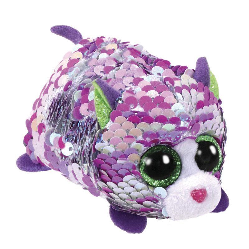 Lilac Sequin Purple Cat Tty