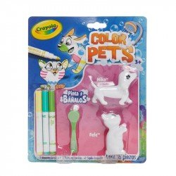 Color Pets Dog Y Cat Crayola