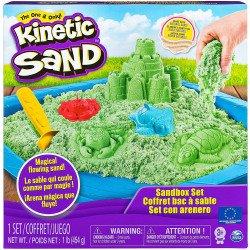 Kinetic Sand Set Castillo De Arena Verde