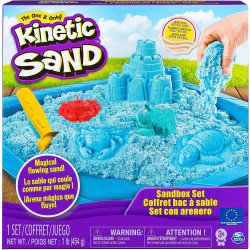 Kinetic Sand Set Castillo De Arena Azul