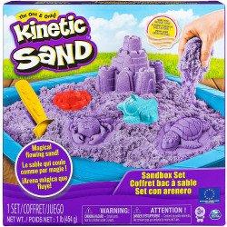 Kinetic Sand Set Castillo De Arena Morado
