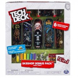 TECH DECK TED 6 PACK PATINETAS