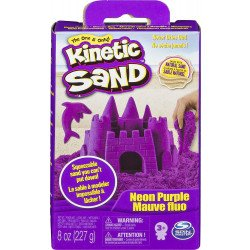 Caja de Arena Kinetic Sand Morada