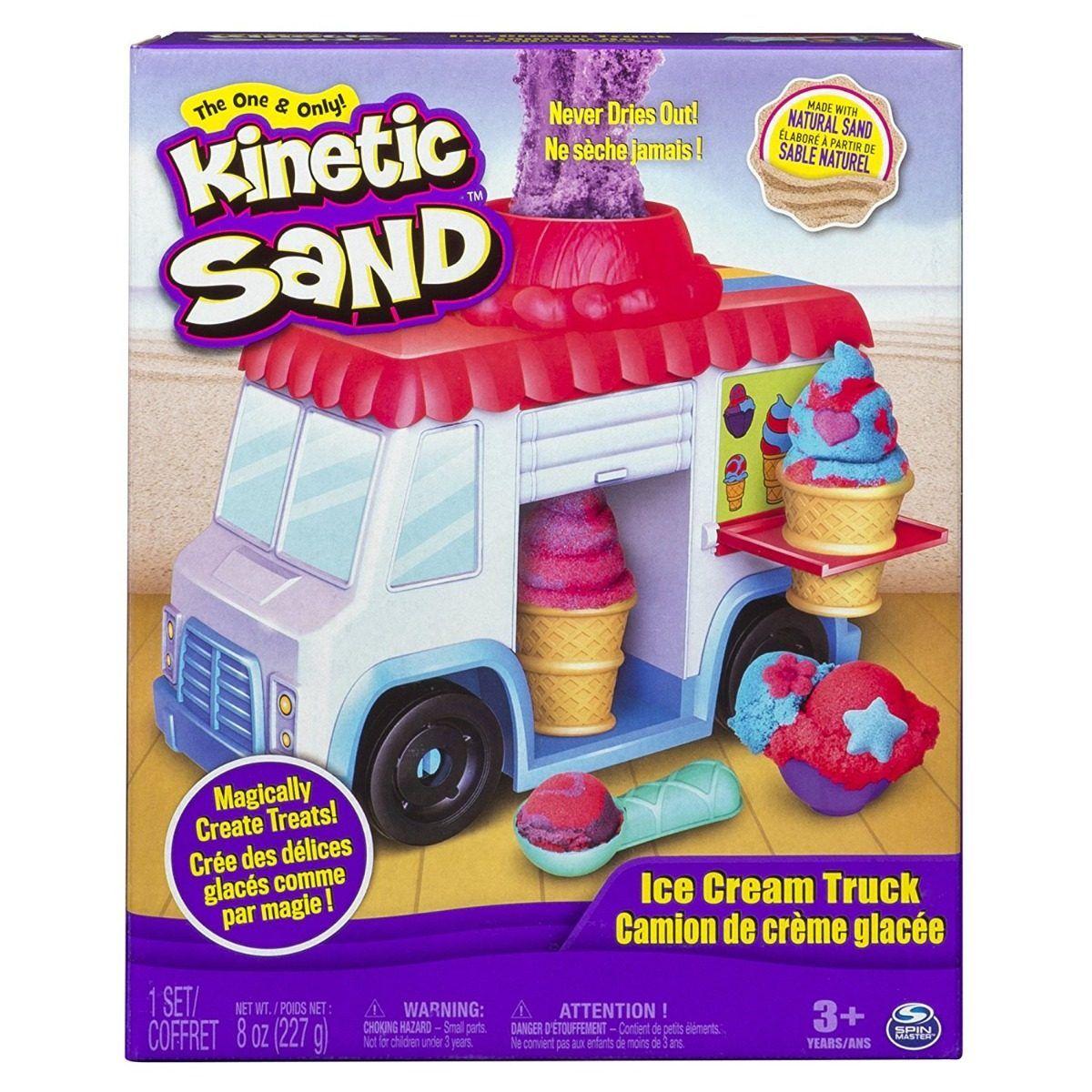 Kinetic Sand Set Camión de Helados Spin Master