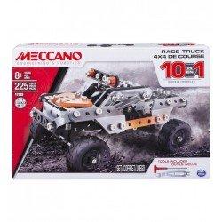 MECCANO SET 10 MODELOS CAMIONES