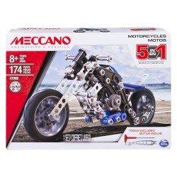 MECCANO SET 5 MODELOS MOTOCICLETAS