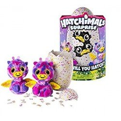 HATCHIMALS HATCHIMAL SORPRESA MORADO