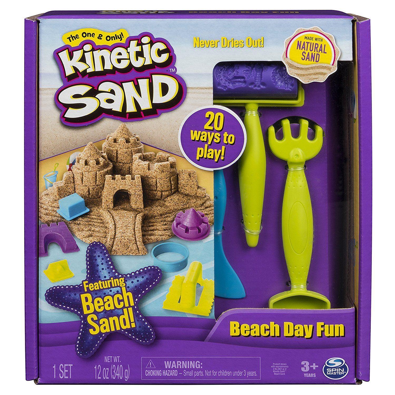 Kinetic Sand Set Un Dia En La Playa Spin Master