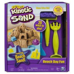 Kinetic Sand Set Un Dia En La Playa Spin Master
