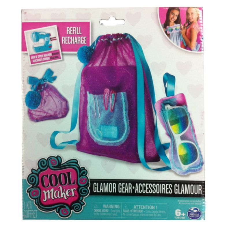 Cool Maker Kit Profesional de Destellos Glamour Spin Master