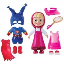 Set Masha y el Oso a la Moda Super Heroe