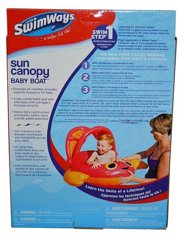 Bote inflable para Bebé con Toldo