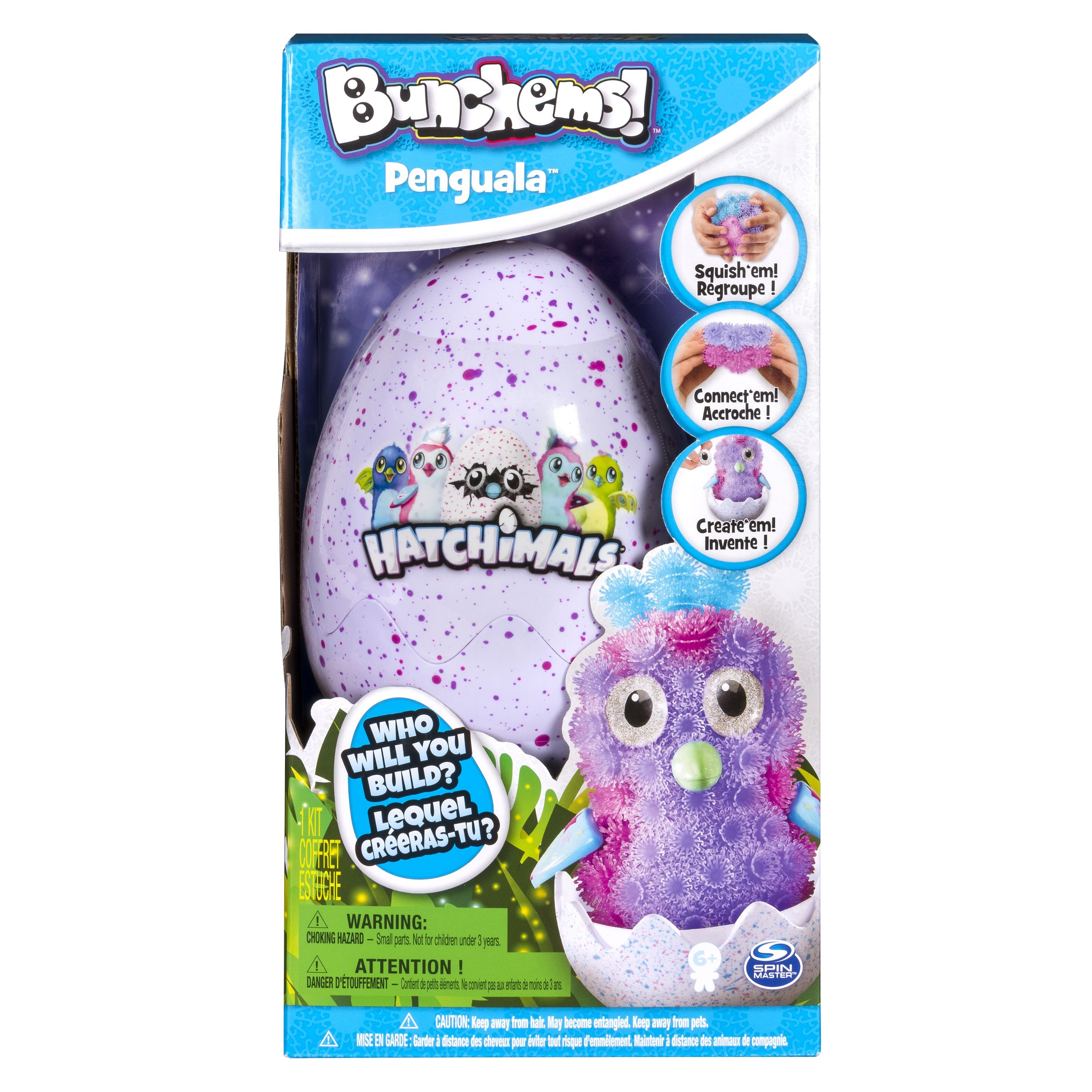 DNG SET HATCHIMALS BUNCHEMS