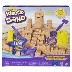 KINETIC SAND SET CASTILLO DE ARENA DE PLAYA
