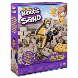 Kinetic Sand Set Excava y Derriba Spin Master