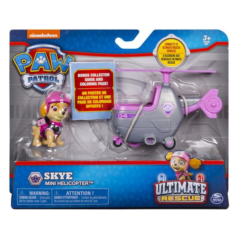 PAW PATROLL MINI VEHICULO ULTIMATE RES CUE