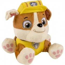 """Peluche 8"""" Paw Patrol Spin Master Rubble"""
