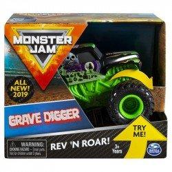 Monster Jam de Fricción 1:43 Spin Master Grave Digger