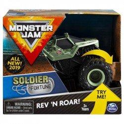 Monster Jam de Fricción 1:43 Spin Master Soldier